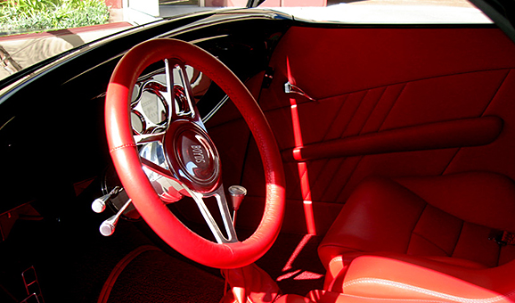 1933 Hiboy Roadster Interior