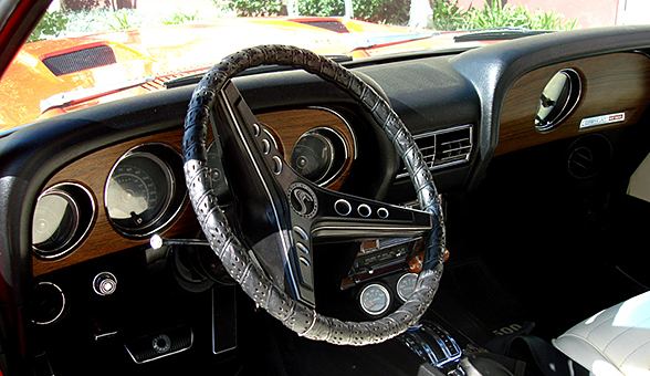 The Interior of the Shelby GT