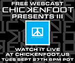 Live Chickenfoot III Webcast