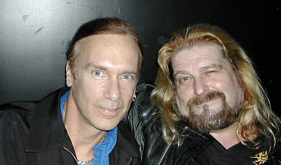 At the Viper Room with Billy Sheehan