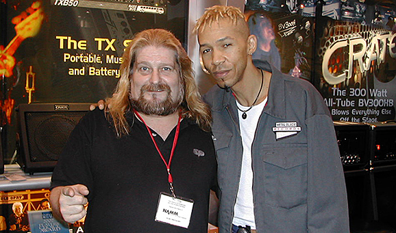 Hangin&#039; at NAMM with Doug Pinnick from King&#039;s X