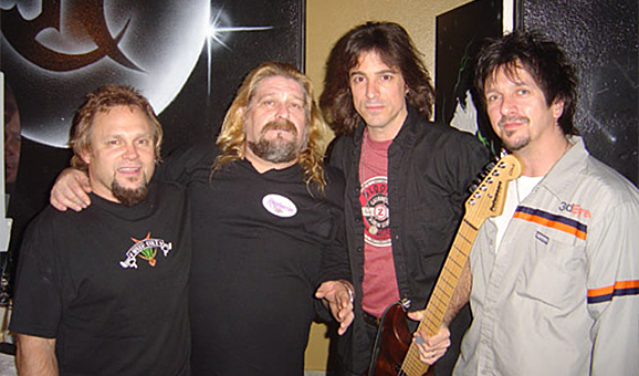 NAMM 2005 with Mad Anthony, Warren Di Martini and Dave Sabo
