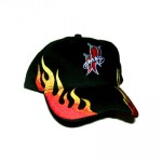 Embroidered Flame Hat