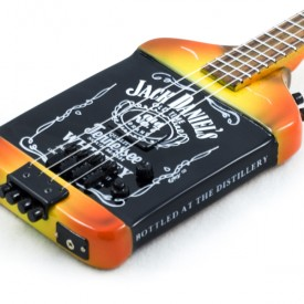 Miniature Jack Daniel's Bass Replica