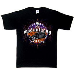 Mad Anthony X-Press 2007 Tour Tee