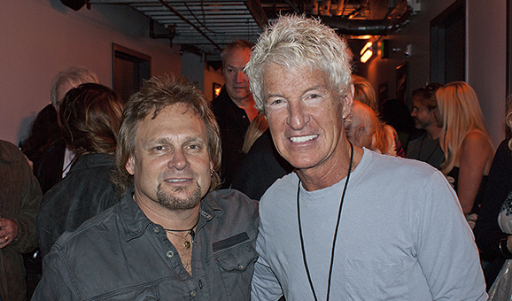 Backstage with Kevin Cronin