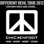 Chickenfoot Different Devil Tour