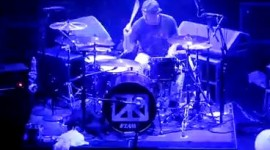 Chad Smith with The Foot - Boston, MA 4.16.12