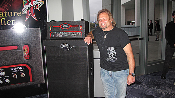 Michael Anthony Signature Peavey VM-MA Bass Amplifier