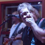 Michael Anthony in the studio rehearsing for 4 Decades of Rock