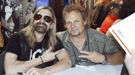 NAMM 2014 with Mad Anthony and James Lomenzo