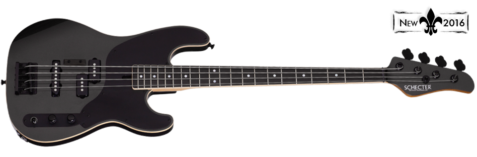 Michael Anthony Signature Schecter Carbon Grey Bass