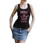 "Mad Anthony's Cafe Ladies ""Skull & Peppers"" Tank"