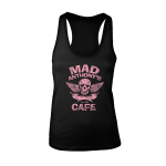 "Mad Anthony's Cafe Ladies ""Skull & Peppers"" Racerback Tank"
