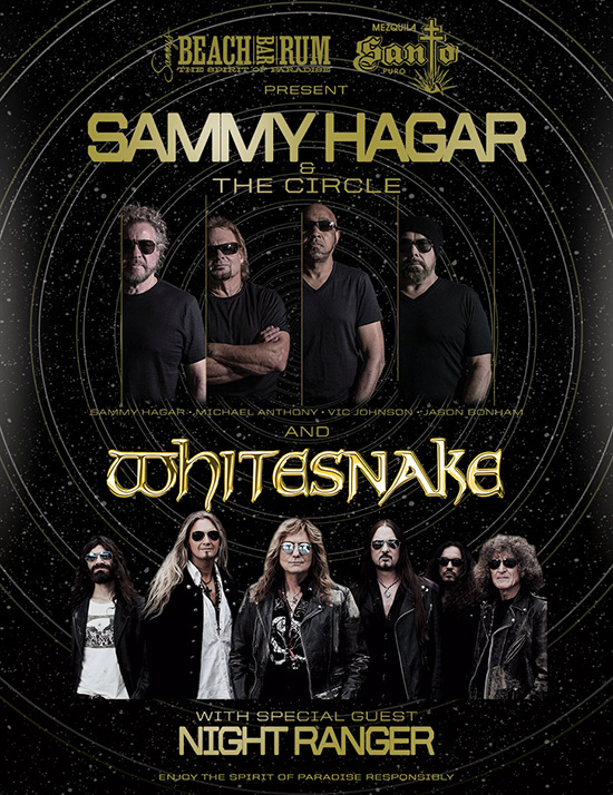 The Circle 2020 Tour with Whitesnake and Night Ranger