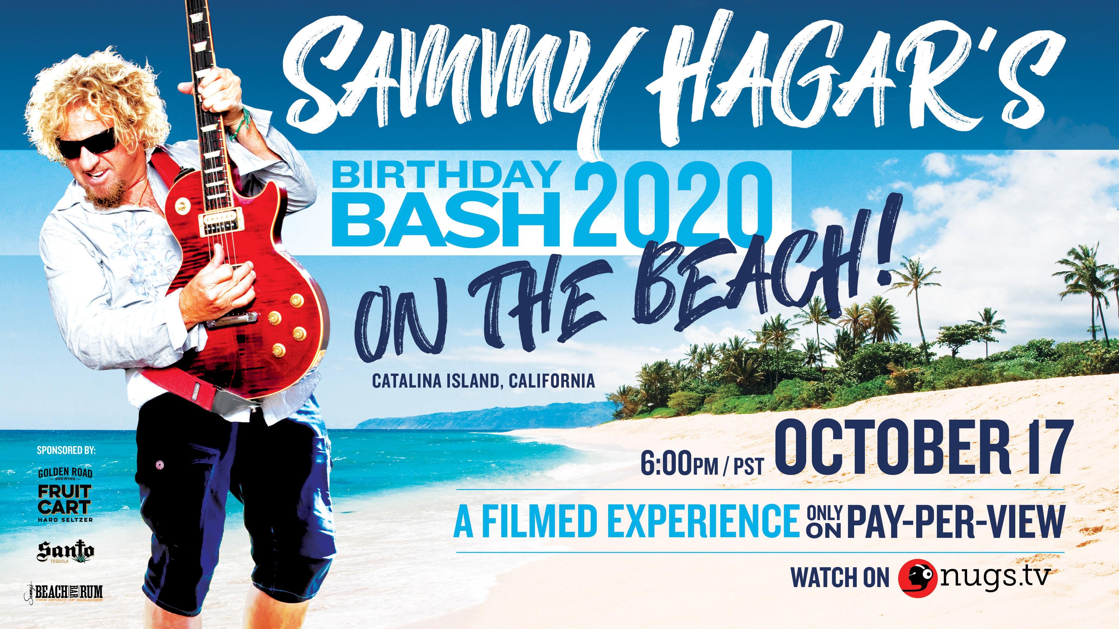 Sammy Hagar's Bithday Bash 2020